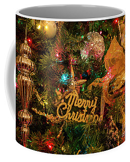 Coffee Mug featuring the photograph Merry Christmas by Dennis Hedberg