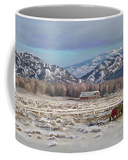 Merry Christmas From Wyoming Coffee Mug