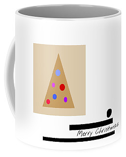 Coffee Mug featuring the mixed media Merry Christmas by Jessica Eli