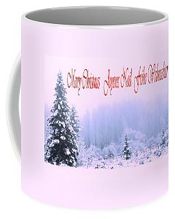 Merry Christmas  Joyeux Noel Coffee Mug