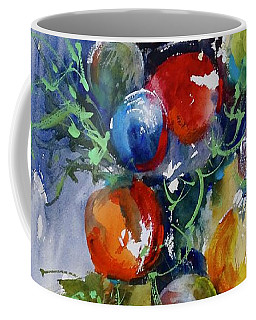 Coffee Mug featuring the painting Merry Christmas by Sandra Strohschein