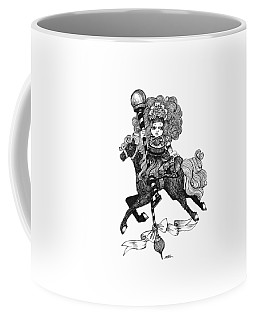 Merry-go-round Girl Coffee Mug