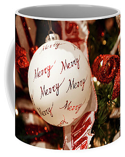 Coffee Mug featuring the photograph Merry, Merry Christmas by Dennis Hedberg