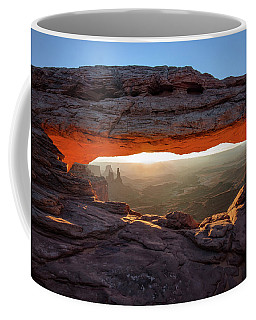 Mesa Arch At Sunrise Coffee Mug