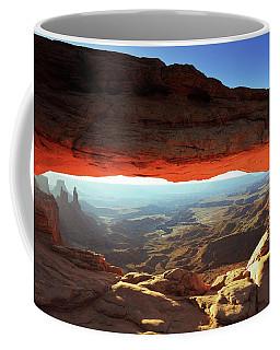 Mesa Arch Canyonlands Np Coffee Mug by Roupen  Baker