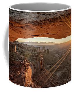 Mesa Arch Sunrise 4 - Canyonlands National Park - Moab Utah Coffee Mug