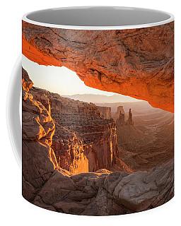 Mesa Arch Sunrise 5 - Canyonlands National Park - Moab Utah Coffee Mug