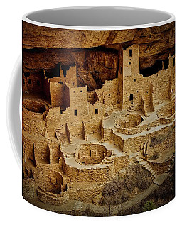 Mesa Verde Cliff Dwellings, Mesa Verde National Park Coffee Mug
