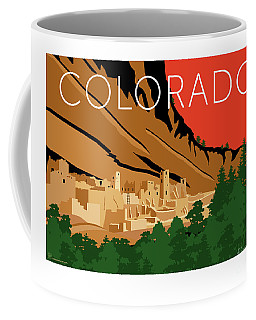 Mesa Verde Orange Coffee Mug
