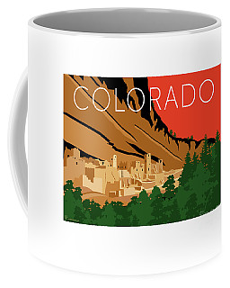 Mesa Verde Orange Coffee Mug