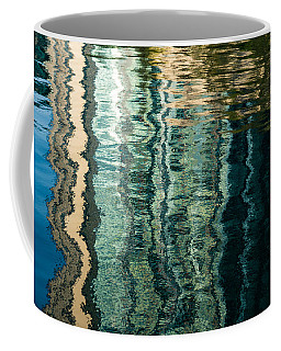 Mesmerizing Abstract Reflections Two Coffee Mug