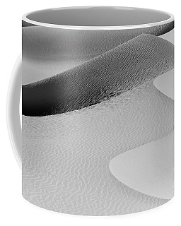 Coffee Mug featuring the photograph Mesquite Dunes Patterns by Sandra Bronstein