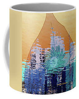 Message In A Bottle Coffee Mug by Lenore Senior