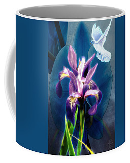 Coffee Mug featuring the digital art Message Of Peace by Pennie McCracken