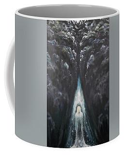 Coffee Mug featuring the painting Messenger by Cheryl Pettigrew