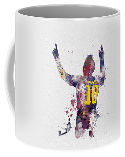 Messi Coffee Mug by Rebecca Jenkins