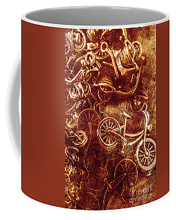 Messy Bike Workshop Coffee Mug