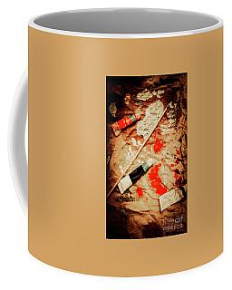 Messy Painters Palette Coffee Mug