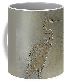 Metal Egret 3 Coffee Mug