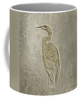 Metal Egret 4 Coffee Mug