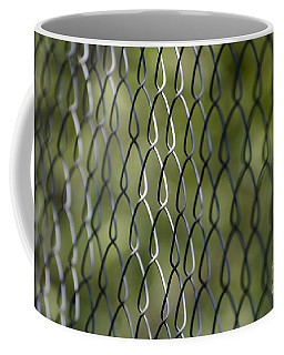 Metal Fence Coffee Mug