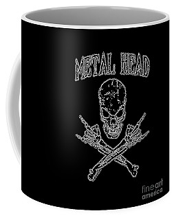 Metal Head Coffee Mug