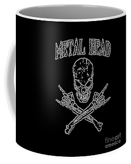 Metal Head Coffee Mug