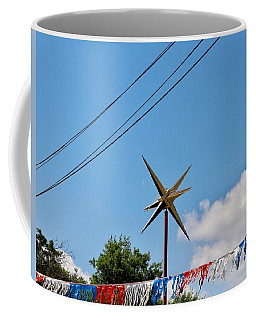 Metal Star In The Sky Coffee Mug