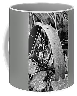 Metal Wheel Coffee Mug
