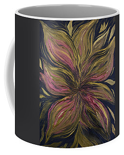 Metallic Flower Coffee Mug
