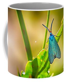 Metallic Forester Moth Coffee Mug