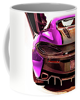 Coffee Mug featuring the photograph Metallic Heartbeat by Karen Wiles