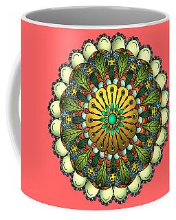Metallic Mandala Coffee Mug