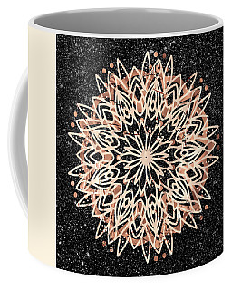 Metallic Mandala Coffee Mug
