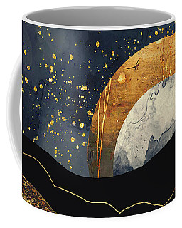Metallic Mountains Coffee Mug