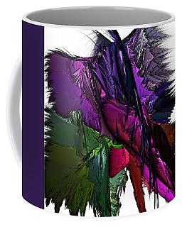 Coffee Mug featuring the digital art Metallic Spring by Sara Raber