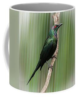 Metallic Starling Coffee Mug