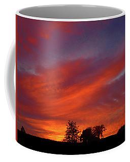 Metallic Sunrise Coffee Mug