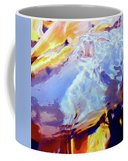 Coffee Mug featuring the painting Metamorphosis by Dominic Piperata
