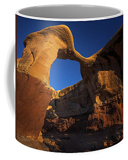 Coffee Mug featuring the photograph Metate Arch by Edgars Erglis