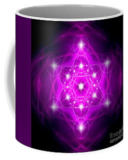 Metatron's Cube Vibration Coffee Mug