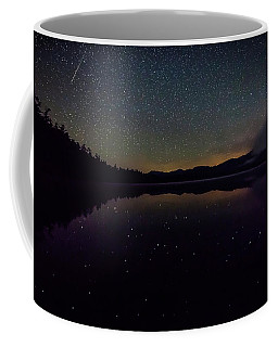 Meteor Over Chocorua Lake Coffee Mug
