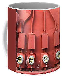 Meter Reader Red 2 Coffee Mug