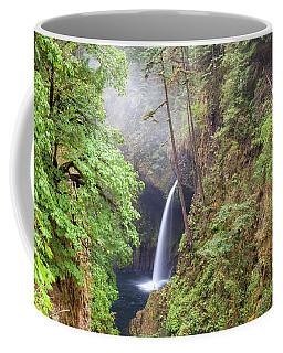 Metlako Falls In Columbia River Gorge Coffee Mug