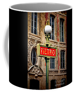 Metro Coffee Mug by Olivier Le Queinec