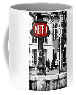Metro On Avenue Montaigne Coffee Mug
