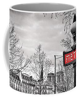 Metro Pont Marie Coffee Mug