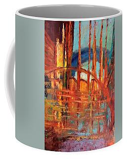 Metropolis In Space Coffee Mug
