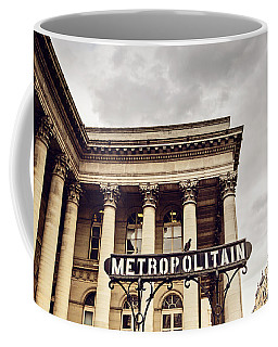 Metropolitain - Paris, France Coffee Mug