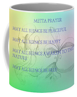 Metta Prayer Coffee Mug
